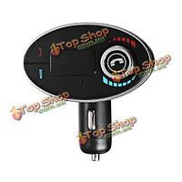 BT-c1 автомобиля Bluetooth  Handsfree USB зарядное устройство FM-передатчик MP3 плеер TF карта