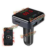 Bc12b беспроводной Bluetooth  автомобильный комплект FM Поддержка радиопередатчик U диск MP3-плеер