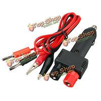 Автоматическое автомобильное зарядное устройство прикуривателя и силовая проводка кабеля аксессуары 10A 12v