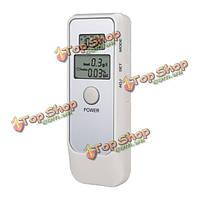 Цифровая алкогольно-респираторная трубка тестера дыхания алкоголя + жидкокристаллические часы