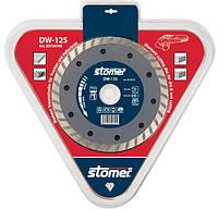 Диск алмазный Stomer DW-125