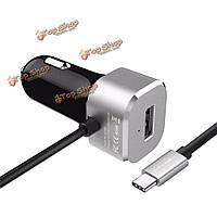 BlitzWolf® BW-C3 5V 5.4a 27w тип USB с 3A зарядное устройство для Nokia Car N1 планшет  Google Chromebook пикселей