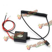 Автомобильный зарядный кабель для gps gsm трекера tk102 твердотянутого провода