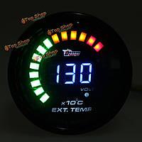 Авто аналог LED цифровой датчик температуры выхлопного газа Temp на вгт
