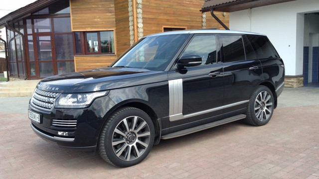 Тюнинг Range Rover Vogue