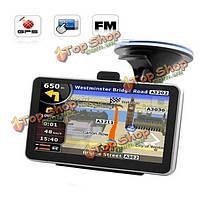 4.3-дюйма автомобильный GPS навигатор 4Гб памяти многофункциональный с BT функция