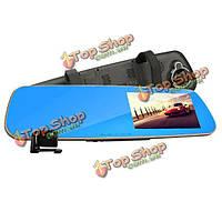 Rexing G099 автомобиль Видеорегистратор синий луч зеркала заднего вида тахограф двойной широкоугольный объектив aangle ночного видения HD 1080p