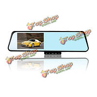 Автомобильный видеорегистратор рекордер камера черточки carcorder тахограф 1080p 4.3 дюймовым экраном