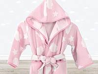 Халат детский Irya - Cloud розовый 5-6 лет