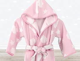 Халат детский Irya - Cloud розовый 3-4 года