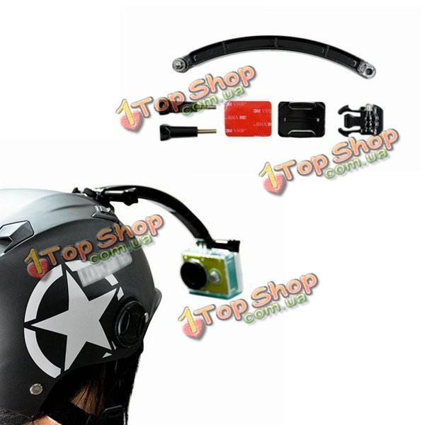 MAX  шлем крепится рука селфи держатель палки для Xiaomi Yi Gopro SJcam SJ4000 sj5000x спортивная камера - ➊TopShop ➠ Товары из Китая с бесплатной доставкой в Украину! в Киеве