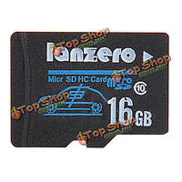 Micro-SD class10 TF карта памяти тахографа камера автомобиля DVR 16Гб lanzero