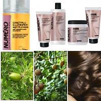 Numero new - для придания блеска волосам с Ценными маслами - аргана, макадамия, макассар