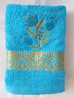 Махровые полотенца для лица оптом  100х50