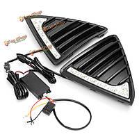 Пара автомобиля LED дневного света DRL противотуманная фара для Ford Focus 2011-2014 новый