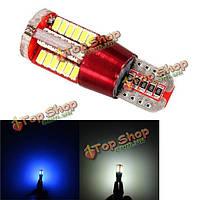 T10 3014 57SMD светодиоды дневного света противотуманных фар Canbus бесплатно расшифровывает 12V-24V