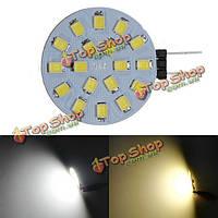 1.7W белый свет 6500k для автомобиля яхты лодки украшения дома G4 200lm 18SMD LED