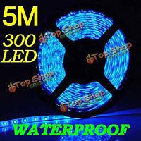 5м 300 LED SMD 3528 синий гибкие светодиодные полосы авто