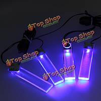 4 LED машина плата интерьера пол тире декоративный свет