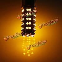 1156 ba15s 68 SMD янтарный/желтый сигнал поворота тумана хвоста LED автомобильная лампа