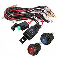 40А 12v LED Световая панель жгута проводов реле включения/выключения для джипа от транспортных средств Atv
