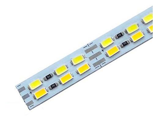 Светодиодная линейка JL 5730-144 led W/WW 3-pin 3500K-6500K, 12В, IP20 теплый белый/холодный белый