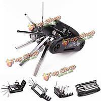 Ремонт мотоциклов велосипед инструменты путешествовать электромобили Торцевой ключ мульти шестигранный гаечный ключ отвертки наборы