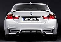 Диффузор заднего бампера обвес BMW F32 стиль M-Performance
