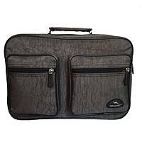 Мужская сумка для документов два накладных кармана Wallaby 2647