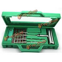 Стальной инструмент для ремонта шин бескамерных шина прокол подключите Repair комплект