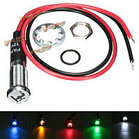 Приборная панель индикатор света LED 8мм 12v Лампа Авто кран Лодка фургон Шаблон