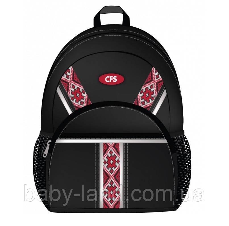 Ранец дошкольный детский ʺVyshyvanka Classic Blackʺ CoolForSchool CF85648