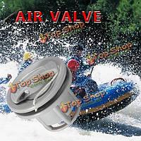 Лодка воздуха газовый клапан пневматический клапан колпачок для надувной шлюпки плот каяк каноэ