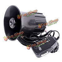 Мотоцикл автомобиля 6 звук громкоговорителя рупорный громкоговоритель сигнализации с микрофоном