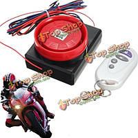 12В пульт дистанционного управления мотоцикла безопасности датчик вибрации сигнализация, фото 1