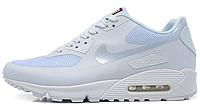 Женские кроссовки Nike Air Max 90 USA Hyperfuse (найк аир макс 90) белые