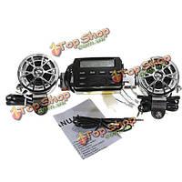 Мотоцикла 12V звук аудио системы на руле FM-радио