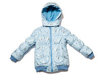 Нежная детская теплая курточка для девочек