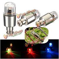 LED мотоцикл автомобиль велосипед колесо шин клапан колпаки фары лампа