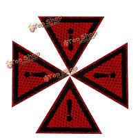Алмазов класса отражающие наклейки отличительные знаки предупреждающие этикетки треугольник многофункциональные