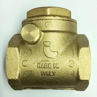 Лепестковые обратные клапаны отопления