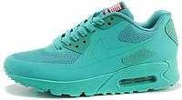 Женские кроссовки Nike Air Max 90 USA Hyperfuse (найк аир макс 90) бирюзовые