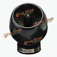 Углеволокно k/n 48-миллиметровый воздушный фильтр для 140cc 150cc 160cc скутер внедорожного мотоцикла ямы