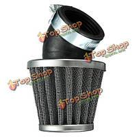 40мм 45° воздушный фильтр черный для 50cc 110cc 125cc 140cc яму велосипед грязи мотоцикл
