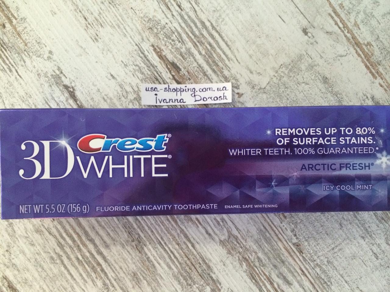 Отбеливающая зубная паста Crest Арктическая свежесть,136грамм