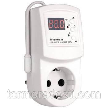 Terneo RZ терморегулятор в розетку (термостат)