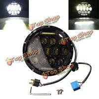 7-дюймов 10-24V LED h4 фар привет/Лоу для Jeep Wrangler Harley-Davidson Huммer