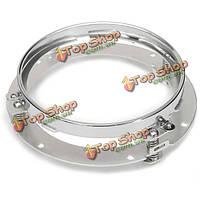 7-дюймов хром мотоцикл круглый фар монтажное кольцо кронштейна для Harley-Davidson