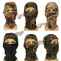 Армия верхом открытый CS Tactical военный Балаклава маска полное лицо
