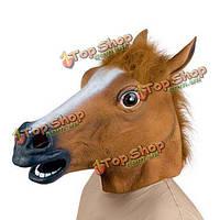 Латексная маска резиновая маска Лошади голова лошади